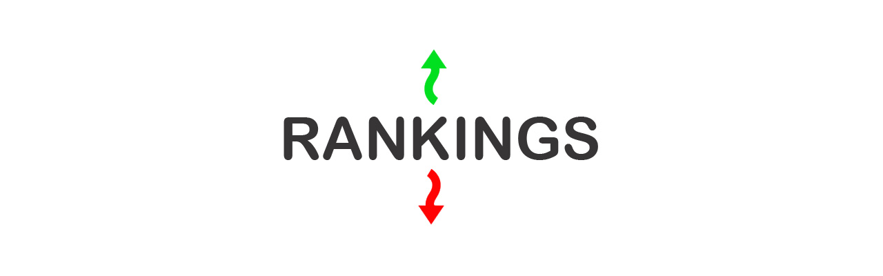 SEO position rankings go up and down